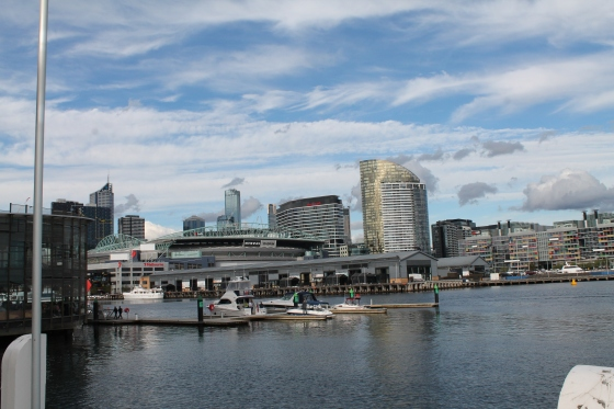 The Docklands on a beautiful 6 mile run!