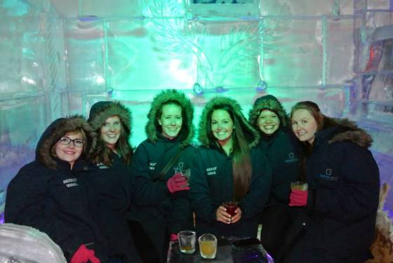 went to my first ice bar