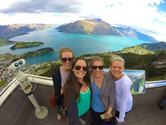 After finals were over I headed to New Zealand where I... hiked a lot
