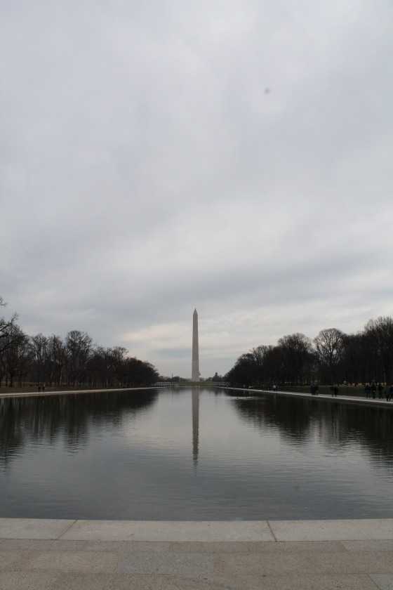 Went to DC to visit my aunt and uncle
