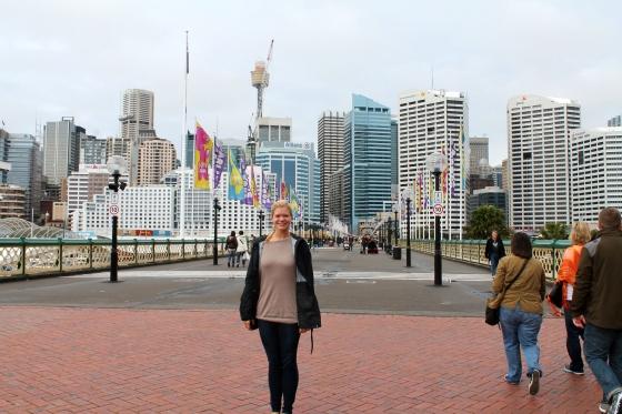 I saw Sydney