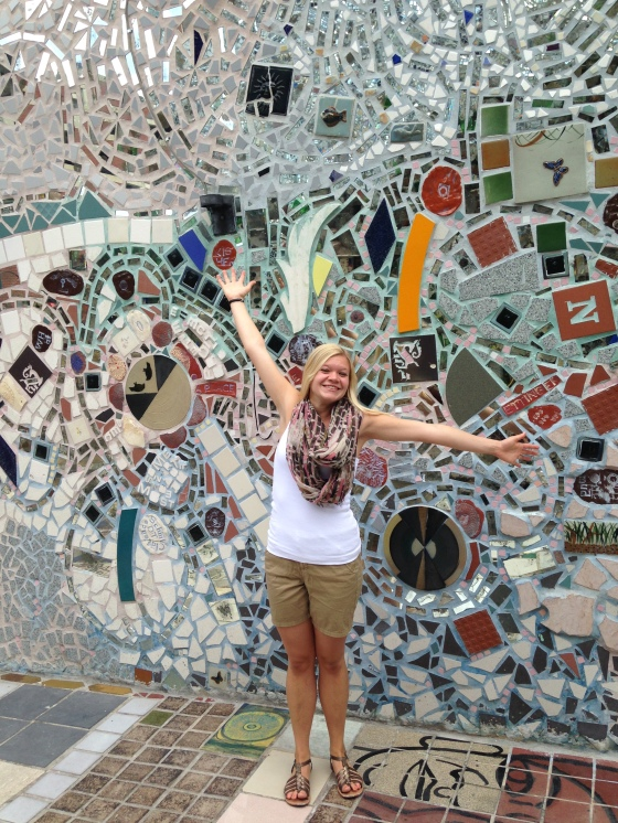 I explored more of Philly! My first trip to Magic Gardens!