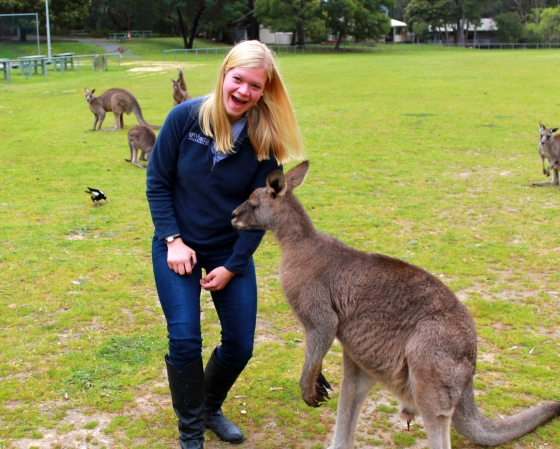 I saw lots of Aussie animals...