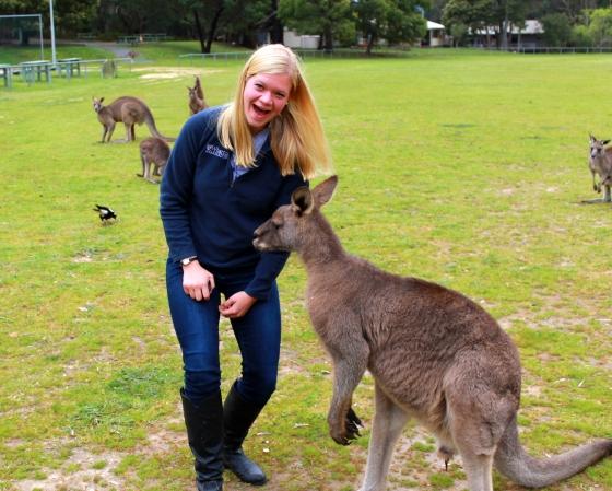 I saw lots of Aussie animals...