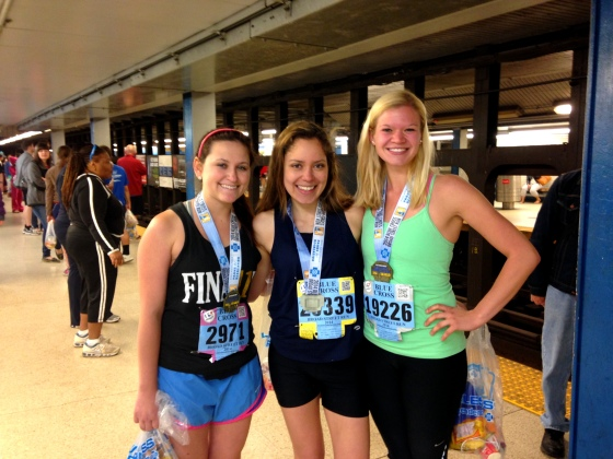 I ran the Broad Street Run with these beautiful ladies!!