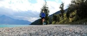 Running towards Glenorchy
