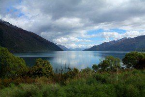 The driving in New Zealand is stunning