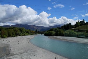 Part of the braided rivers