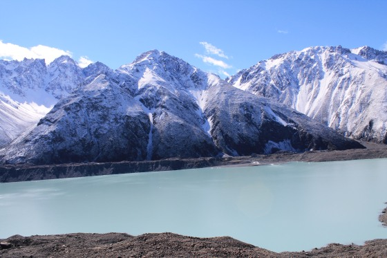 The Tasman Glacier View!