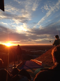 The day after Christmas was full of family dates from the movies to snow tubing and beautiful sunsets!