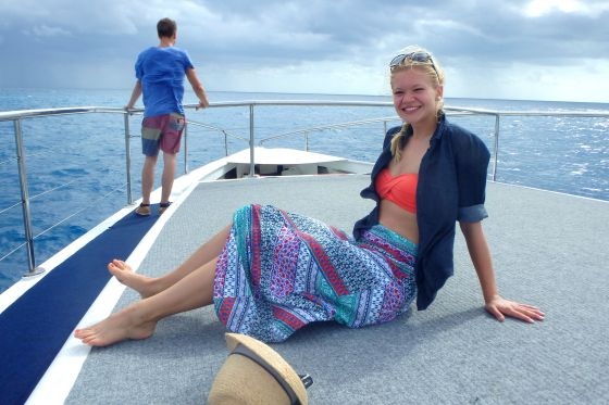 I spent an amazing day on the Great Barrier Reef!