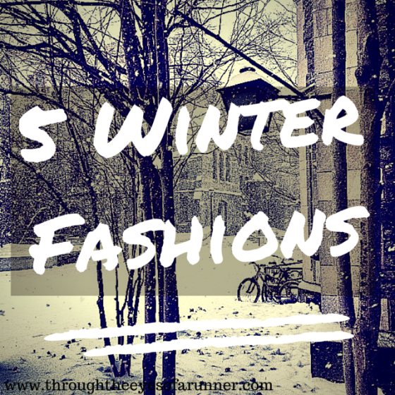 5 Winter Fashions