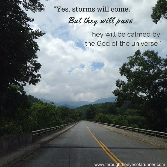 Yes, storms will come.
