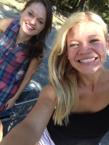 I went bike riding for a couple hours with this beautiful person.
